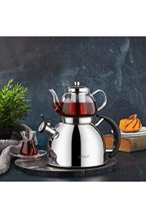 Kettle Mania Düdüklü Çaydanlık - Inox