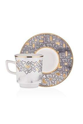 Monochrome 6'lı Kahve Takımı M00705