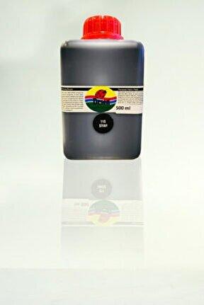 Siyah Kumaş Boyası 500ml.(110-siyah)