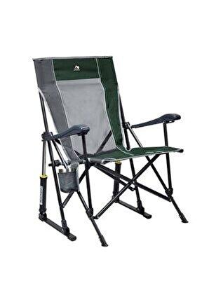 Yeşil Roadtrip Amortisörlü Katlanır Kamp Sandalyesi