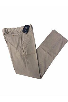 Erkek Bej Kumaş Pantolon