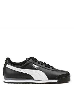 Unisex Siyah Roma Basıc Sneaker 353572