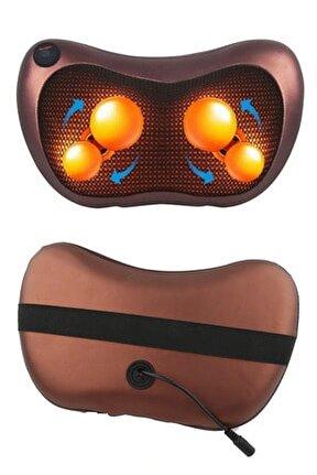 Çift Motorlu Titreşimli Yoğurmalı Isıtmalı Rahatlatıcı Bel  Boyun Ayak Sırt Omuz Masaj Aleti