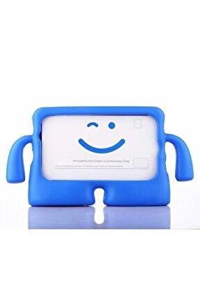 Samsung Galaxy Tab A 8 Sm-t290 Uyumlu Çocuklar İçin Standlı Tutacaklı Yumuşak Silikon Kılıf