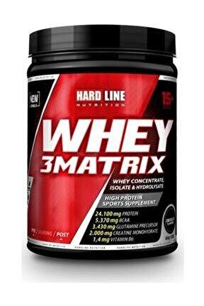 Whey 3 Matrix Çilek Çilekli 454 Gr Protein Tozu Kas Bcaa Aminoasit Kas Geliştir