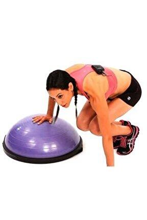 Bosu Ball Mor Pilates Denge Aleti Topu Csf209mr