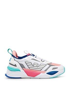 Marka Logolu Kalın Tabanlı Spor Ayakkabı Unısex Ayakkabı X8x070 Xk165 N340