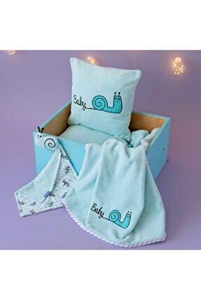 Sangaloz Uyku Arkadaşı,battaniye Ve Yastık Takımı