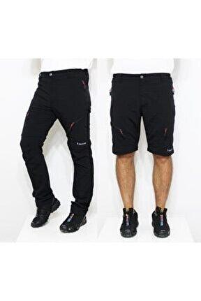 Outdoor Modüler Trekking Pantolon-siyah