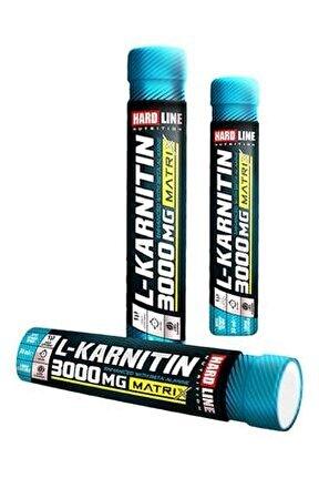 L-karnitin Matrix 3000 Mg 1 Adet Limon Aromalı