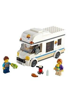 ® City Tatilci Karavanı 60283 - Çocuklar için Oyuncak Yapım Seti 190 Parça