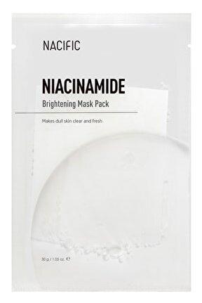 Niacinamide Brightening Mask - Aydınlatıcı Beyazlatıcı Cilt Maskesi