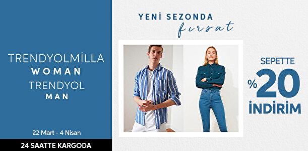 TRENDYOLMİLLA & TRENDYOL MAN - Yeni Sezonda Fırsat