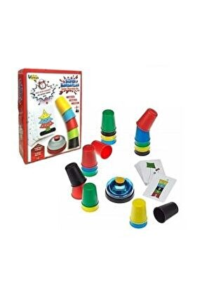 Eğitici Bardaklar Zeka Oyunu