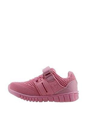 313.18y.159 Kız Çocuk Işıklı Spor Ayakkabı Pembe 22-25