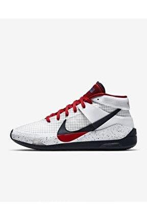 Erkek Beyaz Basketbol Ayakkabısı Kd13
