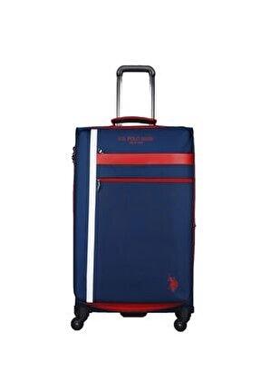 Unisex Us Polo Assn . Şerit Detaylı Büyük Boy Valiz Plvlz20228a