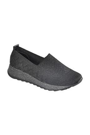 800 Siyah Kadın Ayakkabı