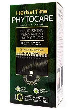 Phytocare 1n Black Siyah Bitkisel Saç Boyası
