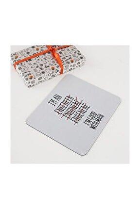 Mühendis Sevgiliye Hediye Mousepad - Mouse pad - Fare Altlığı