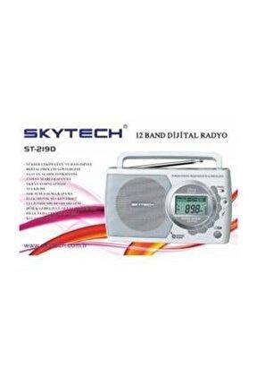 St-219d 12 Band Digital Radyo