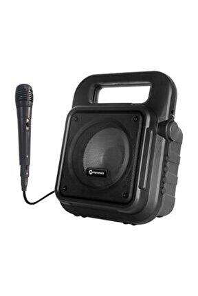 Taşınabilir Mikrofonlu Bt Speaker Amfi
