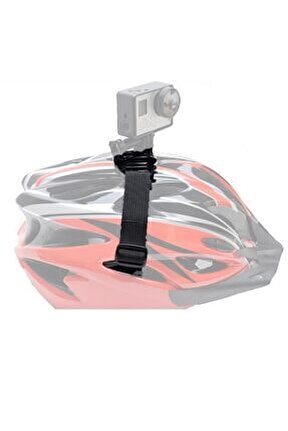 Tüm Aksiyon Kameralara Uyumlu Bisiklet Kask Bağlantı Aparatı