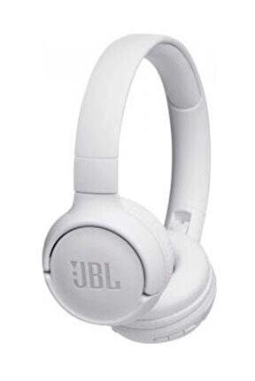 T500BT Mikrofonlu Kulaküstü Kablosuz Beyaz Kulaklık