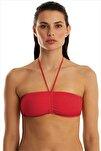 Kadın Kırmızı Bikini Üstü 63541