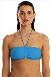 Kadın Mavi Bikini Üstü 63541