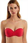 Kadın Kırmızı Bikini Üstü 63549/D2027