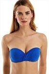 Kadın Saks Bikini Üstü 63549/D4468
