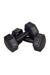 SPOR 3 KG Dambıl Seti Fitness ve Ağırlık Seti Siyah