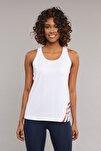 Beyaz Kadın Antrenman  Atlet ES-3511