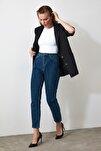 Indigo Yüksek Bel Mom Jeans TWOAW20JE0129