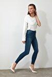 Indigo Yüksek Bel Skinny Jeans TWOSS20JE0098