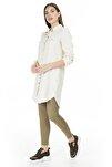 Kadın Ekru  Gömlek Elbise 10226772