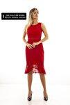 Kadın Kırmızı  Abiye  1608232