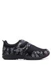 Alıson Günlük Giyim Kadın Ayakkabı Siyah Kamuflaj