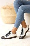 Kadın Beyaz Nubuk Casual Ayakkabı