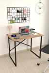 Çam Çalışma Masası Laptop Bilgisayar Masası Ofis Ders Yemek Cocuk Masası 60x90 cm