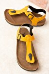 Hardal Kadın Sandalet B777805009