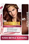 L'Oréal Paris Excellence Creme Saç Boyası - 5.32 Altın Kahve