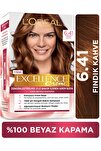 Excellence Creme Saç Boyası 6.41 Fındık Kahvesi