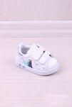 Kız Bebek Antibakteriyel Ortopedik Baskılı Ilk Adım Ayakkabı