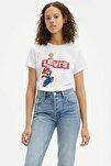 Kadın Beyaz The Perfect T-Shirt 17369 0909