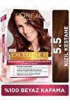 Excellence Creme Saç Boyası - 5.5 Kızıl Kestane