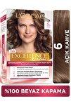 Excellence Creme Saç Boyası - 6 Açık Kahve