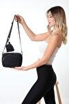 U4 Siyah Cüzdanlı Çanta