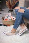 Bej Kadın Spor Ayakkabı